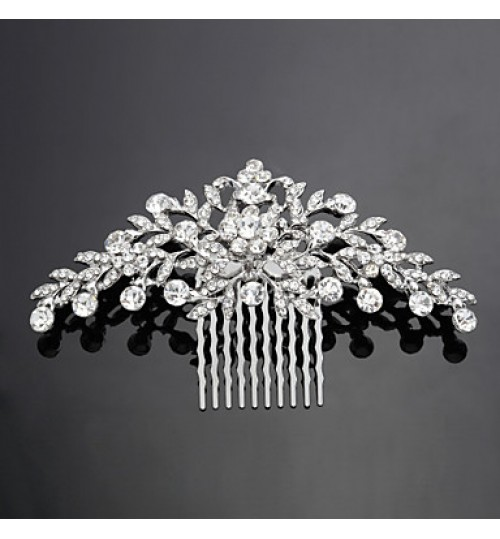 Women's Alloy Headpiece-Wedding / Special Occasion Hair Combs As the Picture