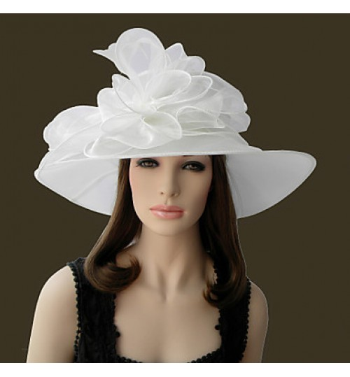 Beautiful Organza Special Occasion Hats(More Colors)